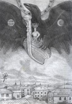Flyingship by Sukharev