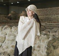 Linen scarf linen HAT Womens summer hats Summer scarf for | Etsy