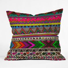 Poncho Throw Pillow 16x16 now featured on Fab.