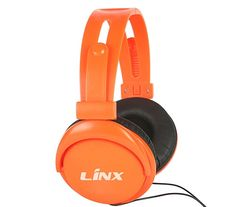 headband headphone with LINX logo