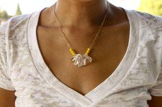 Crystal quartznecklace on sale! Orig $48, on sale for $19!