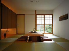 掘りごたつがある和モダンな和室 イメージ