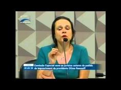 """Janaína Paschoal admite: """"Eu fui contratada pelo PSDB""""  Publicado em 29 de abr de 2016 Isso é muito grave! A advogada Janaína Paschoal fala que recebeu R$ 45 mil reais para elaborar o parecer do impeachment e quem a contratou foi PSDB, que fez o pedido e ainda está relatando o processo do golpe. Um jogo de carta marcada para retirar do poder uma presidente legitimamente eleita com mais de 54 milhões de votos."""