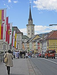 Villach, Austria. Beautiful during Christmas. But cold.