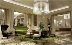 Corinthia Hotel London     An inviting mix of the classic and the contemporary is heralded by a    1,001-crystal Baccarat chandelier explodi...