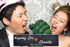 Congratulations to Kyeong Jin & Eddie Park!