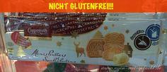Achtung: nicht glutenfrei, sondern nur laktosefreie und zuckerfrei, Spekulatius von Coppenrath