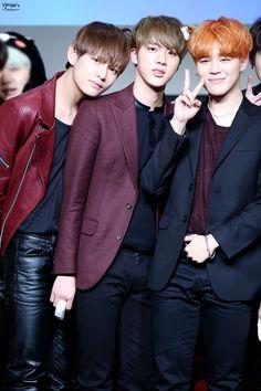 V, Jin, & Jimin © V엘리치타'S | Do not edit.