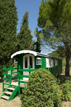 This gorgeous vacation retreat located in Ménerbes, France is called The <i>Roulotte</i>, which means trailer in French.