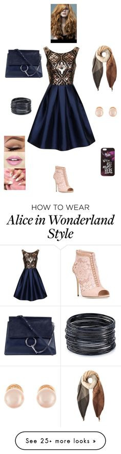 """""""K M C W"""" by queen-kaitlyn on Polyvore featuring Chi Chi, Dolce&Gabbana, Chloé, Paul Smith, ABS by Allen Schwartz, Kenneth Jay Lane, Fiebiger and Disney"""