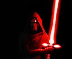 Kylo Ren from Star Wars The Force Awakens.