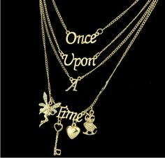 Once Upon a Time Multi Layered Necklace Only at: $5.99 & FREE Shipping Worldwide