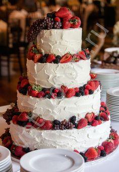 свадебные торты без мастики - Поиск в Google