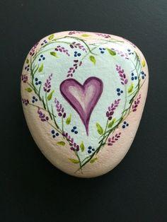 HEART - Painted Rock Art - Love - wedding - anniversary - birthday - gift…
