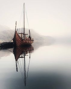 Vikings ⚔️ TAG someone that would love this 😍 Sandane, Norway 🇳🇴 photo by Vikings Art, Viking Character, Norwegian Vikings, Norway Nature, Nature Landscape, Merian, Visit Norway, Viking Ship, Its A Mans World