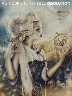 In-Focus: Fantasy & Steampunk Photography by Rebeca Saray   CrispMe