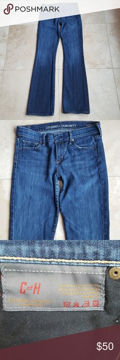 Citizens of Humanity Jeans by Jerome Dahan These jeans are in great condition.  Very clean, there is some fraying in the bottom back of the Jean. Citizens Of Humanity Jeans