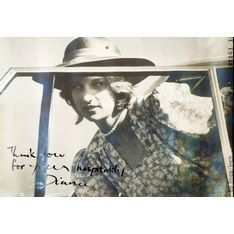 Prince Charles & Lady Diana: Large b/w photographs from the 1983 Royal Visit to Woomargama Station in Albury, the Lady Diana photograph signed 'Thank you ...