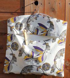 Flutterby Flowers Peg Bag -- Day Dream Hedgerows. £14.00