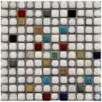 Merola Tile Essence Square Cascade 12-3/8 in. x 12-3/8 in. x 8 mm Porcelain Mosaic Tile FSDESQCS at The Home Depot - Mobile
