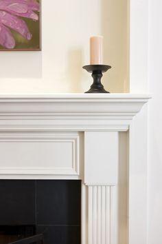 Color comparison - fireplace. www.PrestigePaints.com