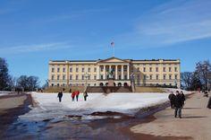 Das königliche Schloss in Oslo