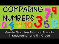 Greater Than Less Than for Kindergarten and First Grade