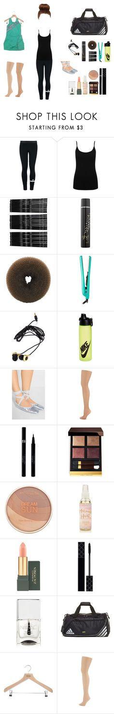 """""""Dance is love//Dance is life"""" by thelventimelord ❤ liked on Polyvore featuring adidas, M&Co, Monki, GHD, Paul Brown Hawaii, Forever 21, NIKE, Ballet Beautiful, Capezio Dance and Sisley"""