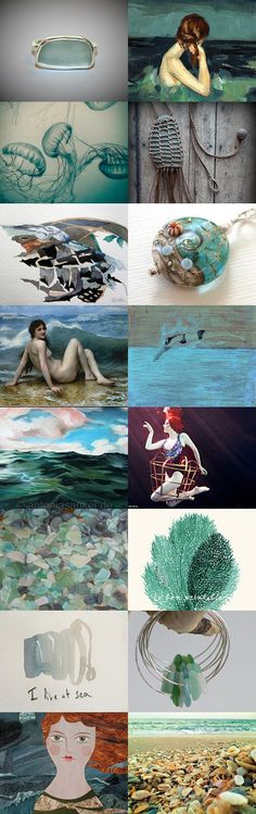 Married to the sea by 3buu on Etsy--Pinned with TreasuryPin.com