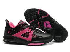 58330a6d8329e Chaussures Air Jordan Q4 Noir  Rouge  nike 10114  - €60.88   Nike Chaussure