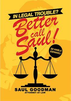Better Call Saul | Posters Minimalistas