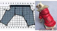 Картинки по запросу выкройки одежды для собак
