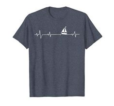Pitbull Dad Heartbeat Pittie Gift Ekg Pet Dogs Lover Funny T Shirt Men Bike Shirts, Perfect Gift For Dad, Fishing T Shirts, Cute Tshirts, In A Heartbeat, Types Of Shirts, Shirt Style, Dog Lovers, Lovers Gift