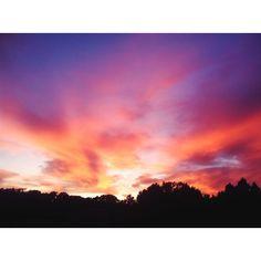 Texas sunset...