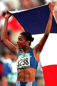 Marie-Josée Pérec. Médaille d'Or JO d'Atlanta, 1996
