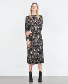 PRINTED DRESS-MUST HAVES-WOMAN | ZARA United States