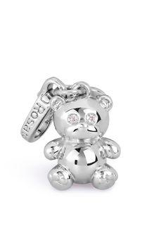 Charm orsetto in argento 925 versione small