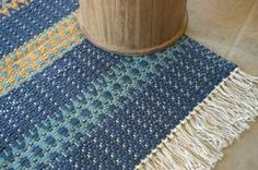 Octobre 2008 Weaving Art, Loom Weaving, Hand Weaving, Weaving Designs, Weaving Patterns, Woven Rug, Colours, Rag Rugs, Rug Weaves