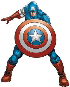 Captain America by Mike Deodato Jr. Marvel And Dc Characters, Marvel Comics Superheroes, Marvel Art, Marvel Heroes, Captain Marvel, Capitan America Comic, Comic Books Art, Comic Art, Captain America Art