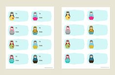 creativemamma free matryoshka doll gift tags free printable