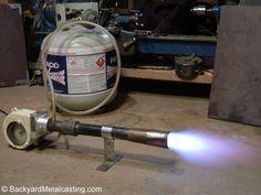 Forced air burners