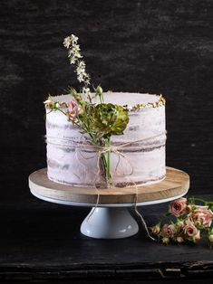 Catering, Cakes, Garden, Party, Inspiration, Pink, Fine Dining, Real Flowers, Pistachios