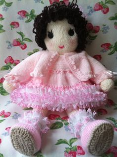 Knitting Patterns For Dolls And Teddy Bears : 1000+ images about My hand knit dolls and teddy bears on Pinterest Knits, H...