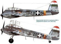 Messerschmitt Me Hungarian Air Force 1944 Aircraft Photos, Ww2 Aircraft, Fighter Aircraft, Military Aircraft, Fighter Jets, Luftwaffe, Defence Force, Ww2 Planes, Aircraft Design
