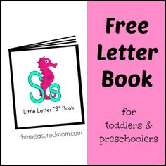 Free letter book of songs and nursery rhymes for letter S