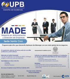 Maestría en Administración y Direccion de Empresas