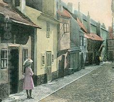 Golden Lane Prague Hradcany