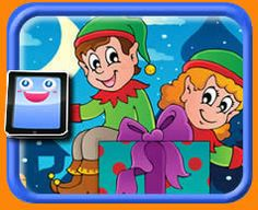 Elves - 25 Piece Online jigsaw puzzle for kids