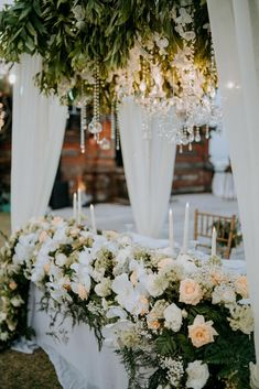 Centrepieces from the Wedding of Satakshi & Aayush Bridal Table, Bali Wedding, Destination Wedding Planner, Centrepieces, Table Decorations, Style, Swag, Wedding Planer, Outfits