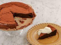 En elegant chokladkaka som bara smälter i munnen - dessutom är den glutenfri! Munnar, Tiramisu, Muffins, Gluten Free, Pie, Yummy Food, Ethnic Recipes, Desserts, Elegant